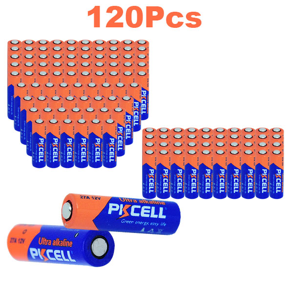 Alkaline battery 27A  12V A27 MN27 VR27 L828 For alarm doorbell head lamp electronic pen 500PCS/box