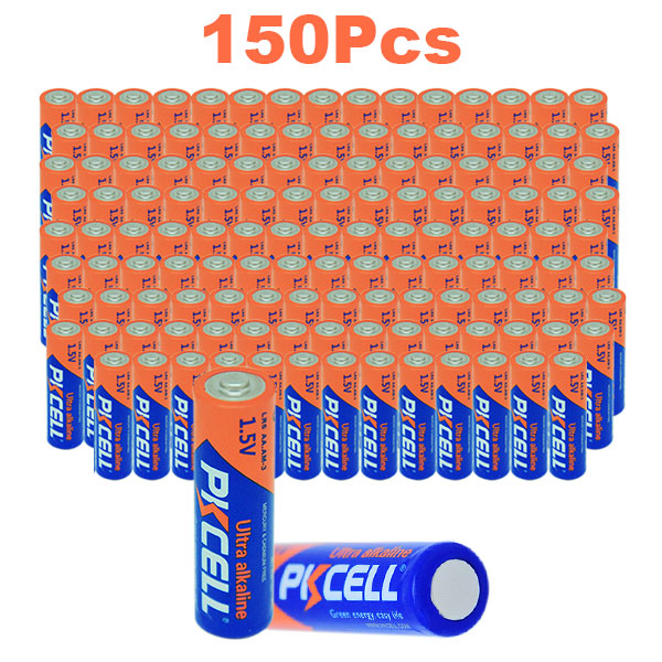 60PCS Alkaline Battery AA 1.5V LR6 R6 15A AM3 Batteries For Recorders flashlights
